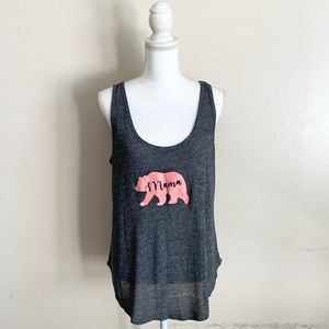 Old Navy Relaxed Tank Top Mama Bear